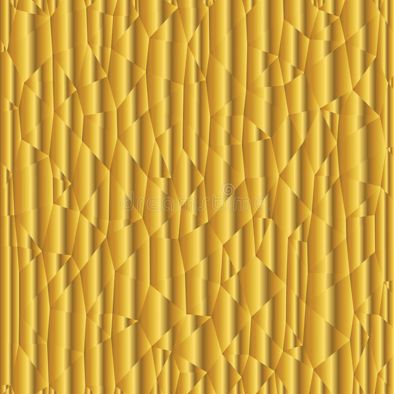 Golden triangle gradient background vector illustration