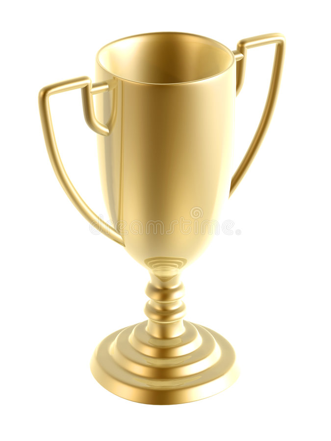 Free Golden Trophy Royalty Free Stock Images - 6142059
