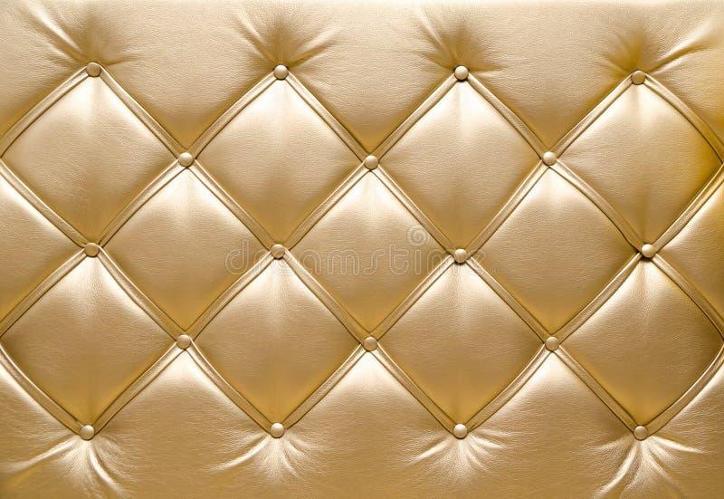 Golden upholstery