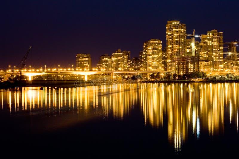 Golden Vancouver royalty free stock photos