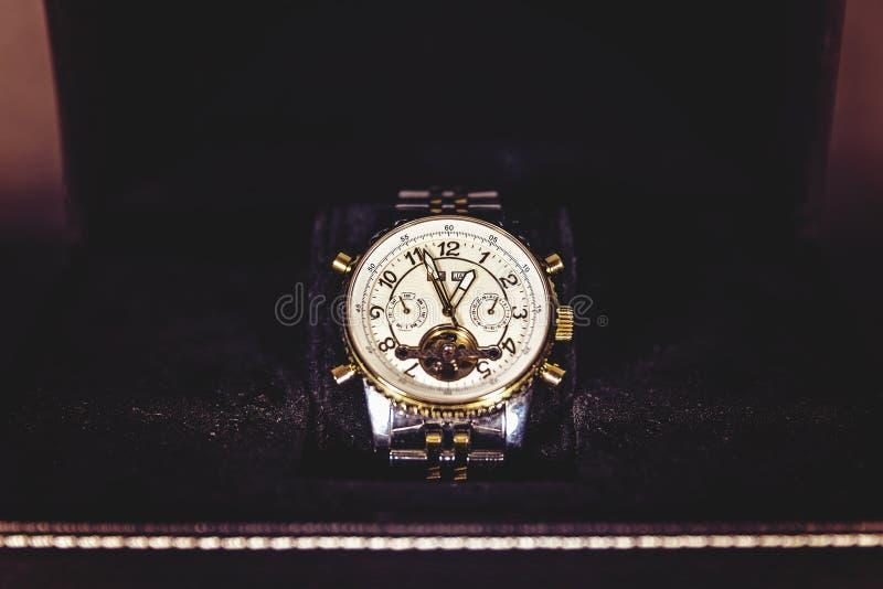 Golden Watch stock photo