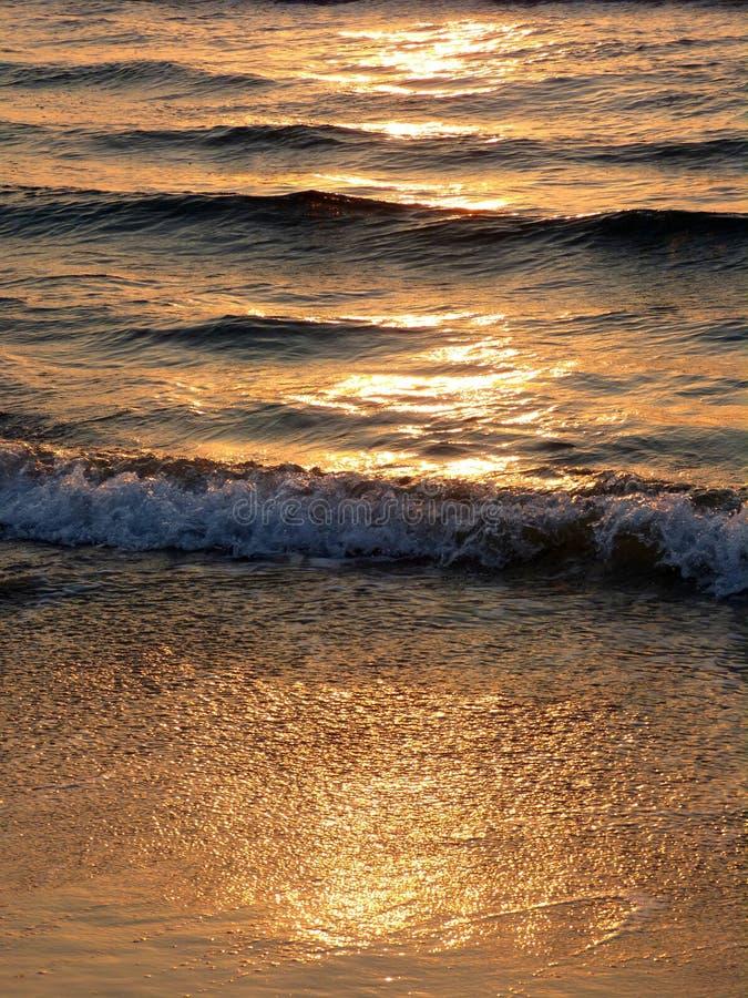 The golden wave Kos Island Greece Europe stock photo