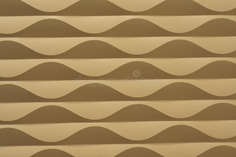 Golden Waves Abstract Background vector illustration