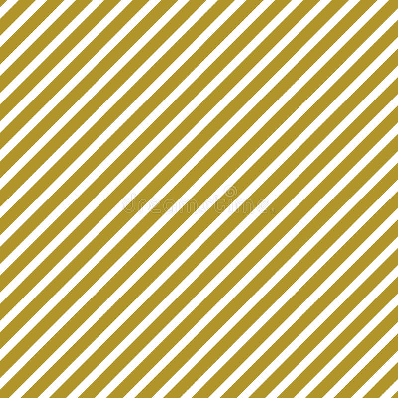 Golden and white stripes diagonally. In a square format vector illustration