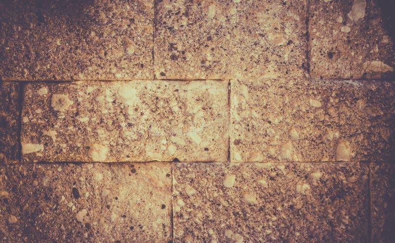 Golden yellow brick wall royalty free stock photo