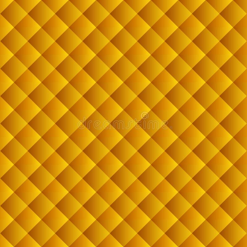 Golden yellow geometric background for the scenery of a website, banner, flyers, covers, packaging vector illustration