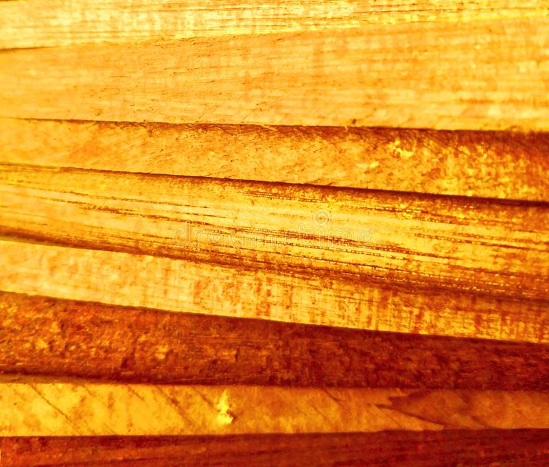 Golden yellow wooden background or backdrop stock image