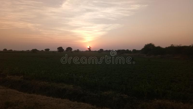 Goldenar sun sunsed sunrise. Beautiful picture This is DSL photography stock image