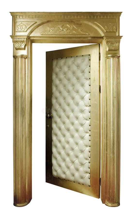 goldendoor стоковое фото