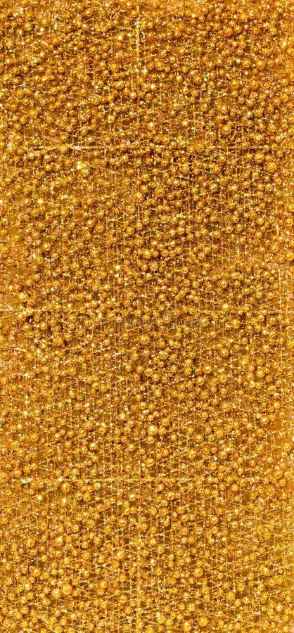 Goldene Beschaffenheit stockfoto