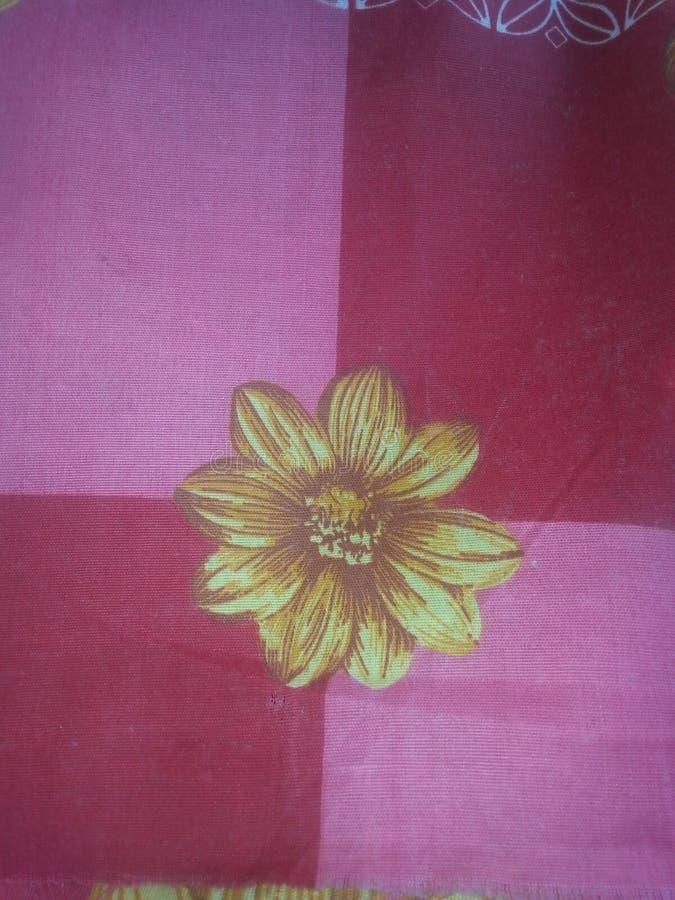 Goldene Blume stockbild