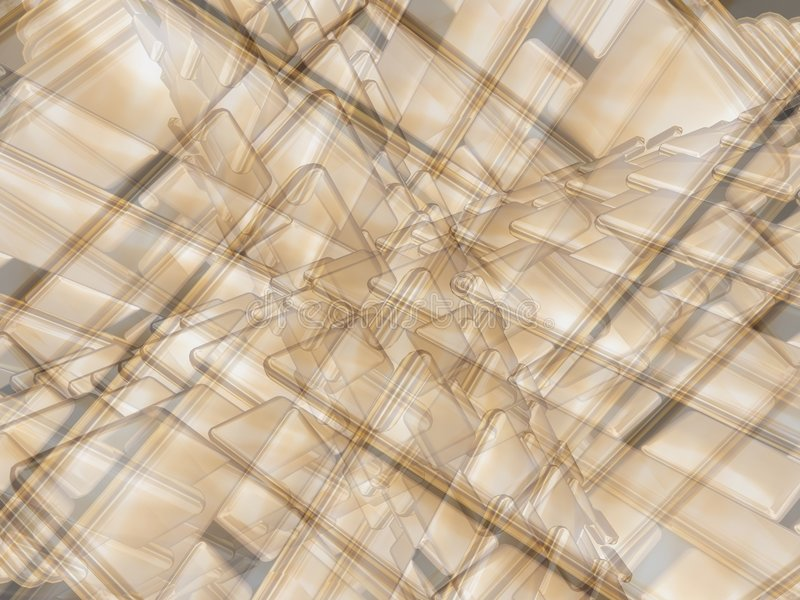 Goldene Diffusion 2 lizenzfreie abbildung