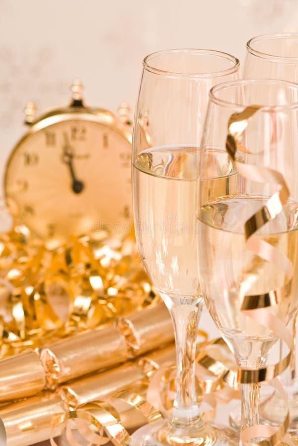 Goldene Feier lizenzfreie stockbilder