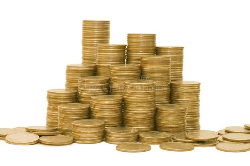Download Goldene Münzen stockfoto. Bild von zahlung, reich, geschäft - 12200802
