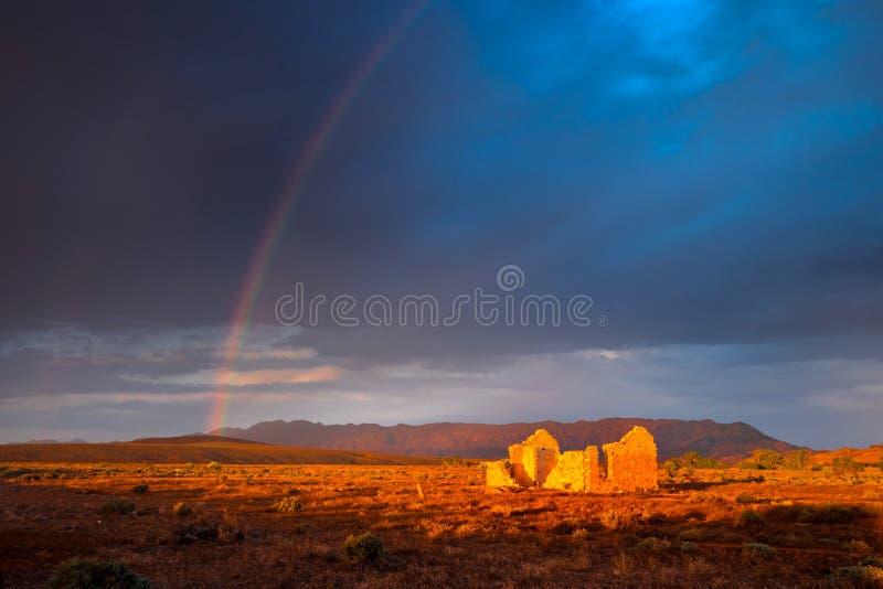 Goldene Ruine lizenzfreies stockfoto