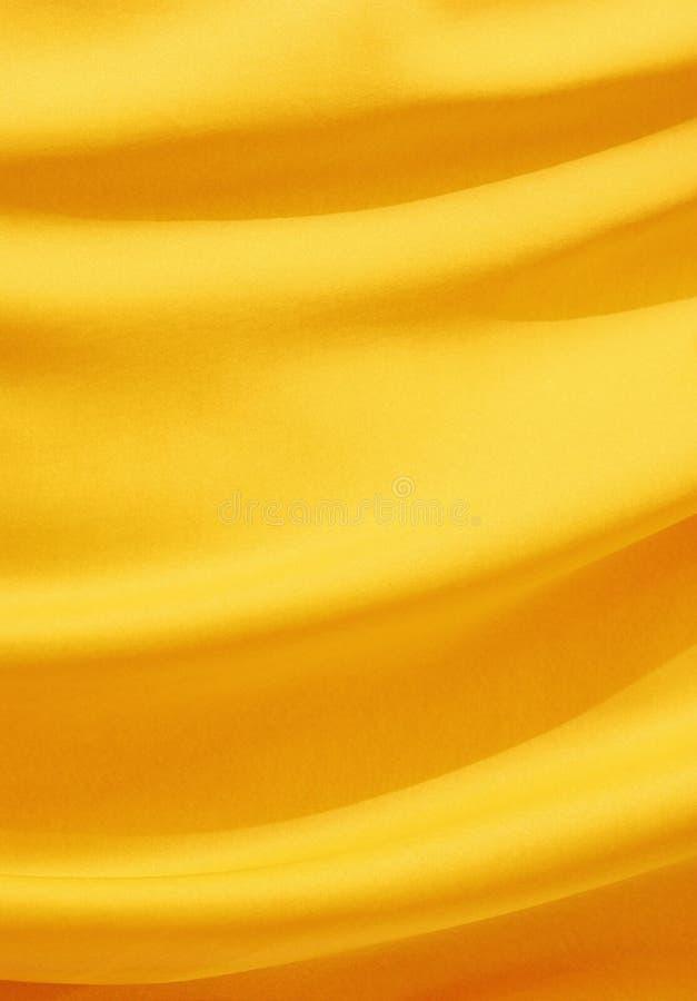 Goldene Seide stockbilder