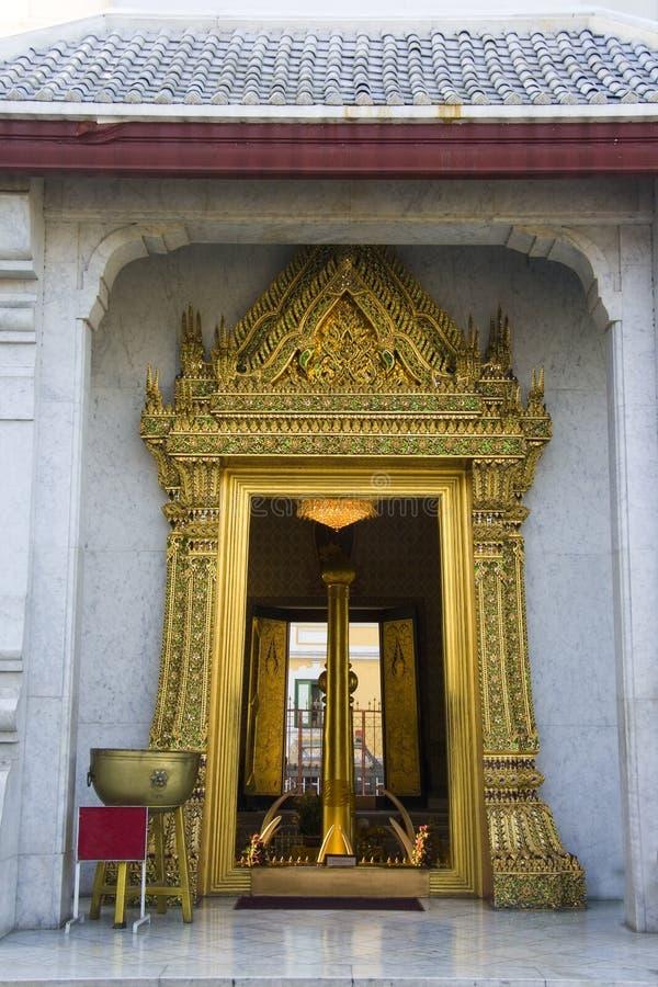 Goldene Tür lizenzfreies stockbild