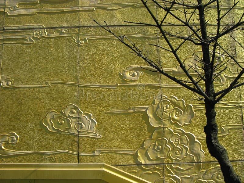 goldene wand stockfoto bild von kapelle idolize anbetung 6741690. Black Bedroom Furniture Sets. Home Design Ideas