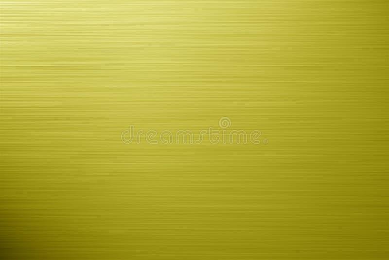 Goldener Aluminiumhintergrund stock abbildung