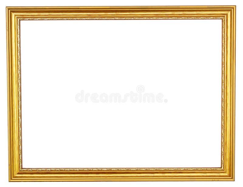 Goldener Bilderrahmen stockfoto. Bild von bild, haupt - 28408448
