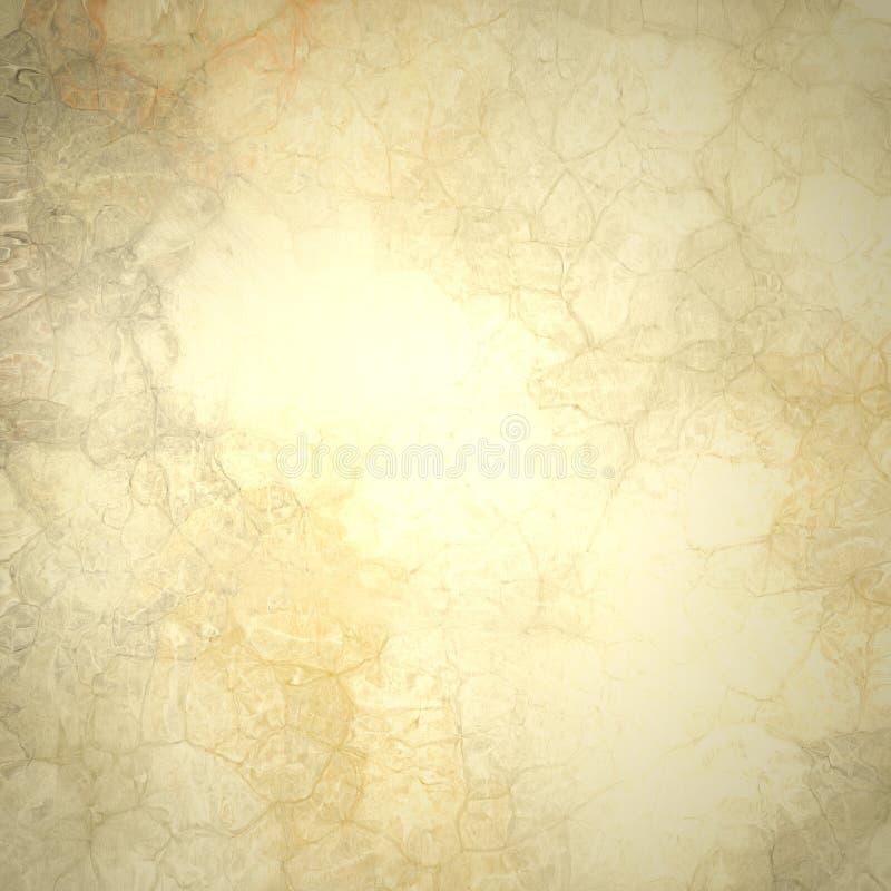 Goldener brauner abstrakter Hintergrund lizenzfreie abbildung