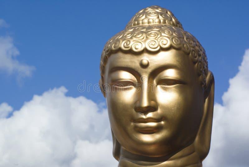 Goldener Buddha. stockfotografie