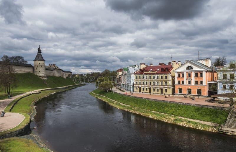 Goldener Damm, ein Wohngebiet in der historischen Stätte von stockfotografie