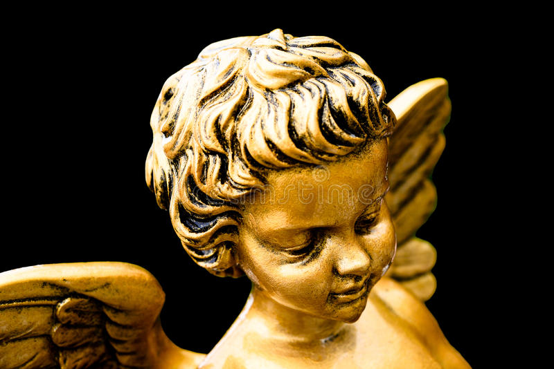 Goldener Engel lizenzfreies stockbild