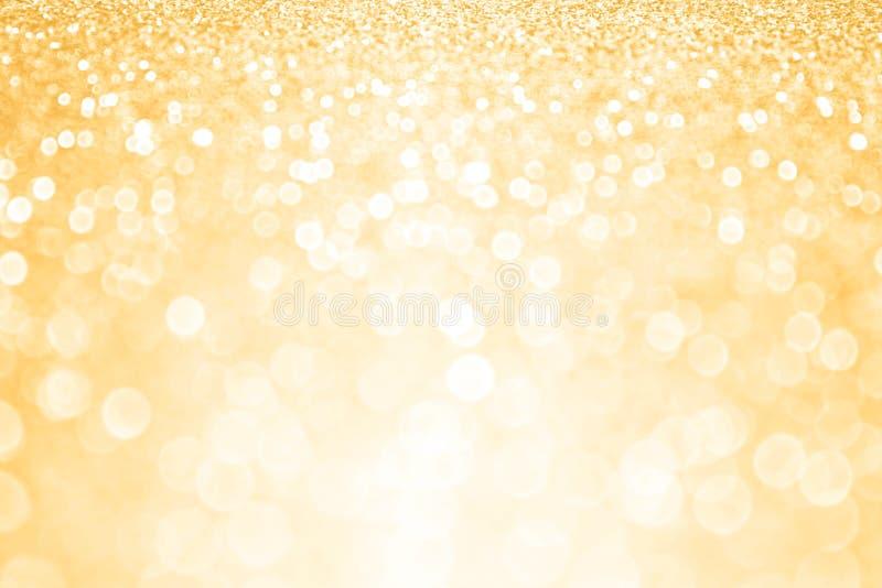 Goldener Geburtstagsfeier-Hintergrund stockfotos
