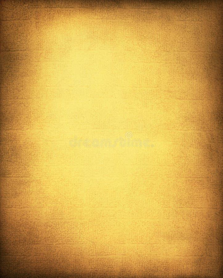 Goldener gelber Hintergrund stockfotografie