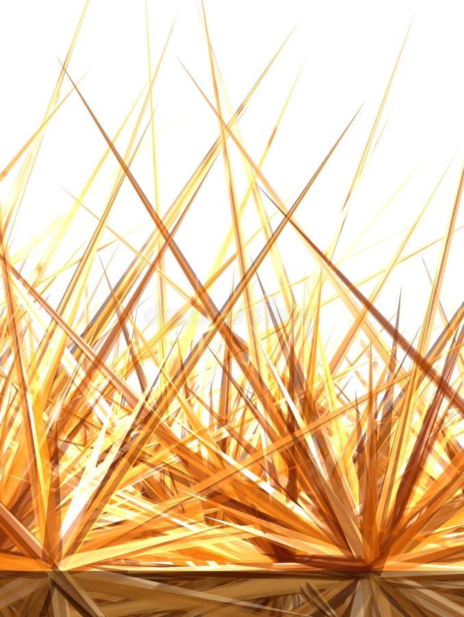 Goldener Horizont 2 vektor abbildung
