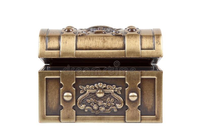 Goldener Kasten stockbild