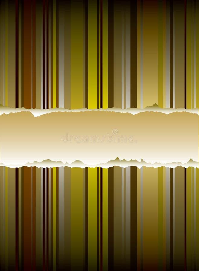 Goldener Rip stock abbildung
