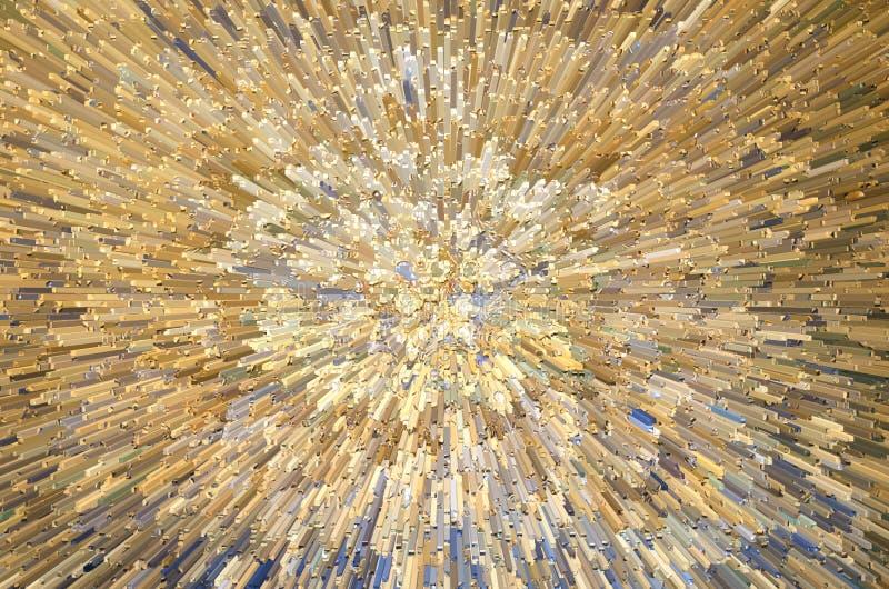 Goldener Stückhintergrund vektor abbildung