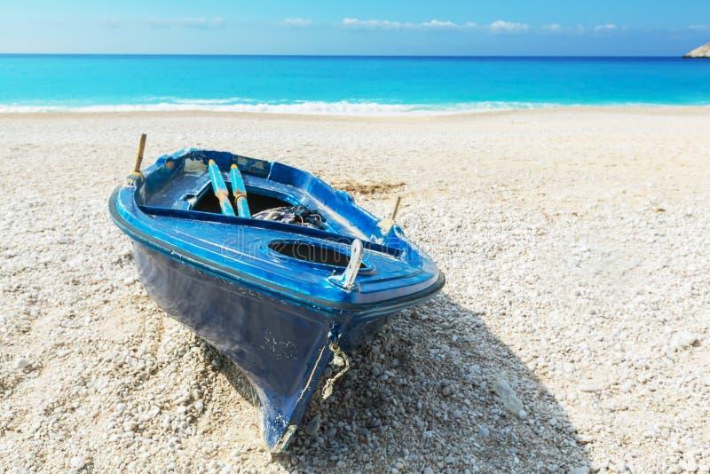 Goldener Strand XI in der kefalonia Insel in Griechenland stockfoto