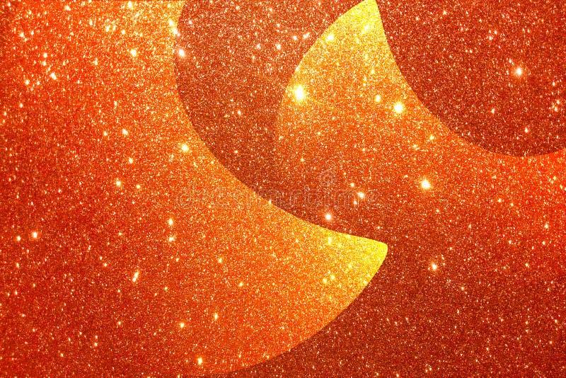 Goldener strukturierter Hintergrund mit Funkelneffekthintergrund stockbilder