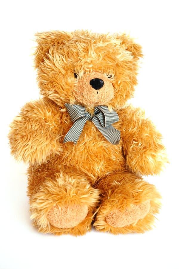 Goldener Teddybär lizenzfreies stockbild