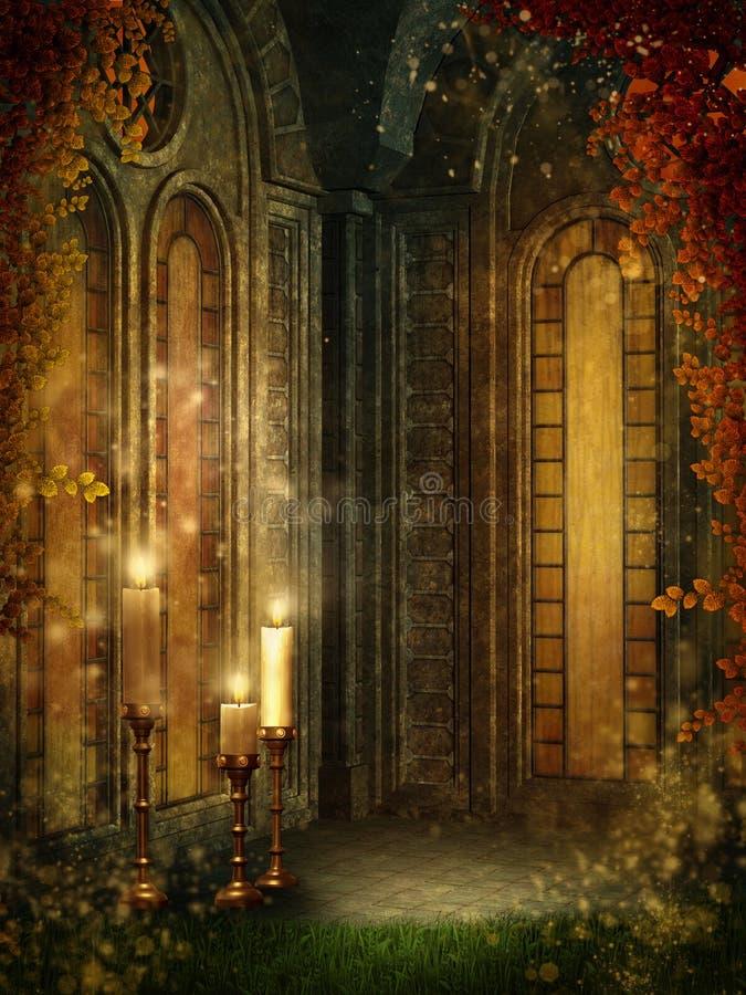 Goldener Tempel 1 vektor abbildung
