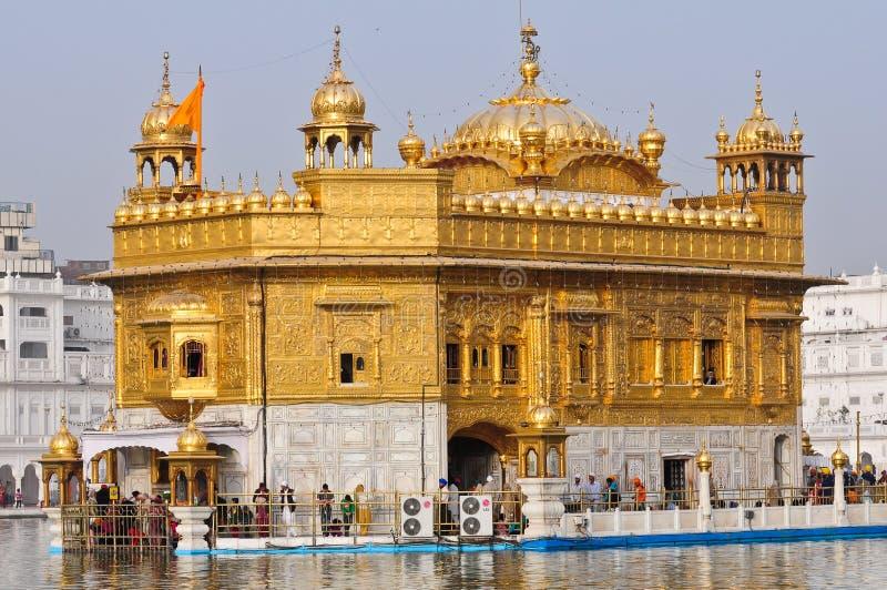 Goldener Tempel stockbild