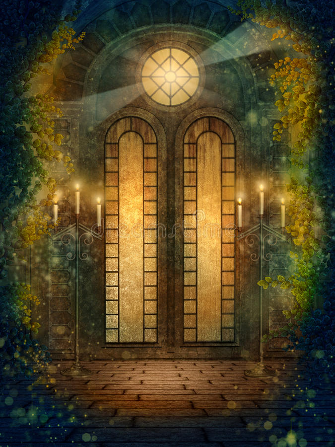 Goldener Tempel 3 vektor abbildung
