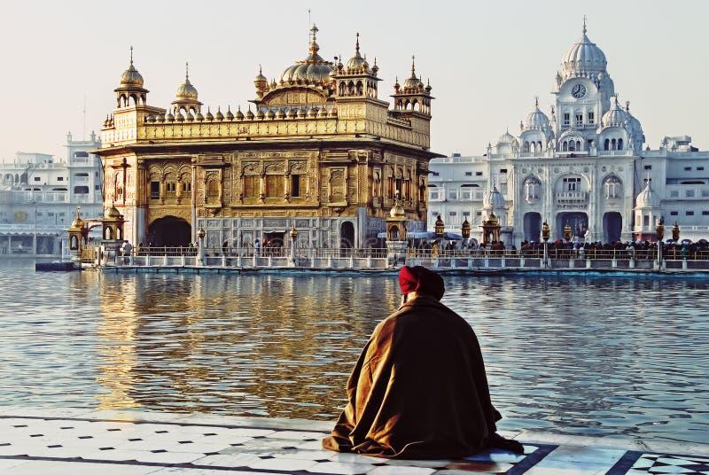 Goldener Tempel lizenzfreies stockbild