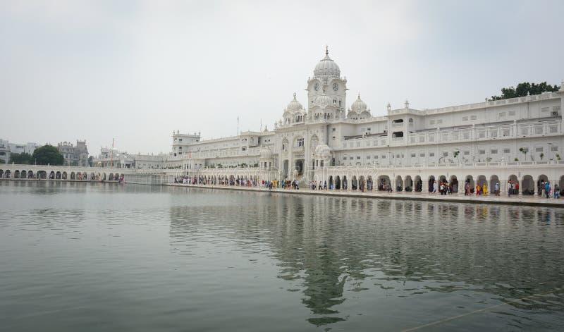 Goldener Tempel in Amritsar, Indien stockbild