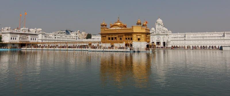 Goldener Tempel in Amritsar/in Indien stockfoto
