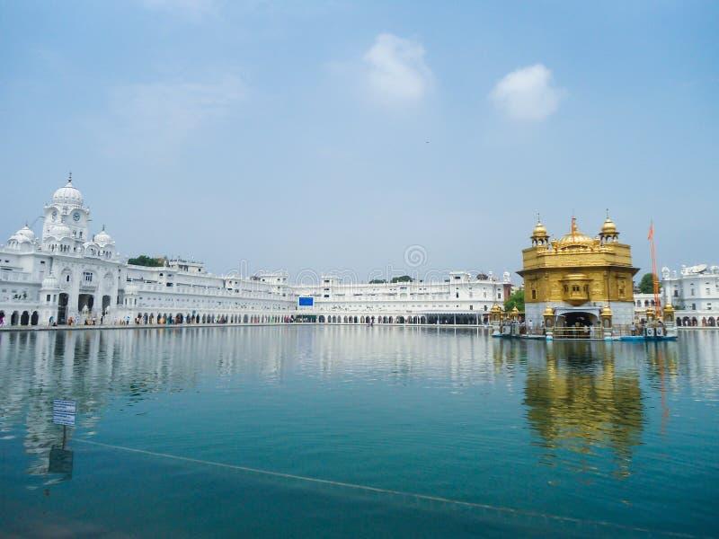 Goldener Tempel in Amritsar, Punjab stockfotografie