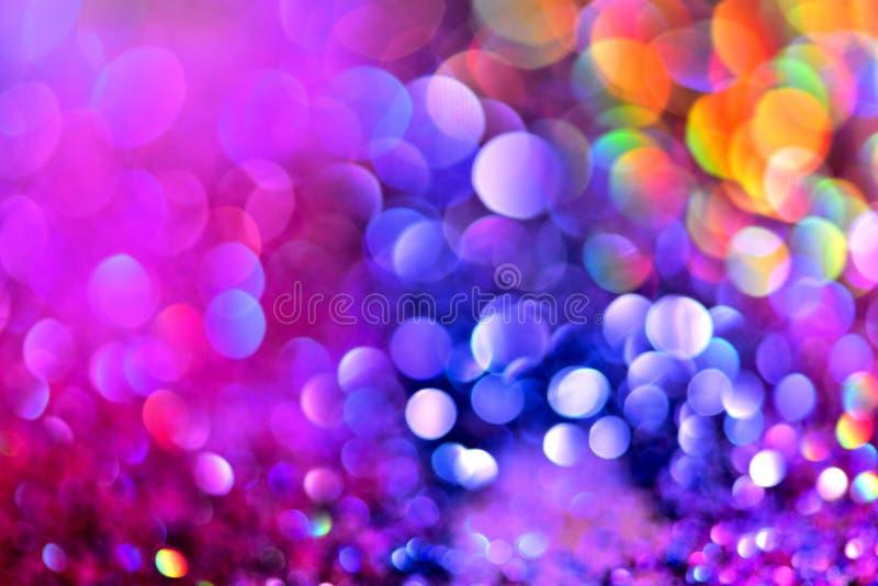 Goldener unscharfer abstrakter Hintergrund der Funkelnbeschaffenheit Colorfull lizenzfreie stockfotos
