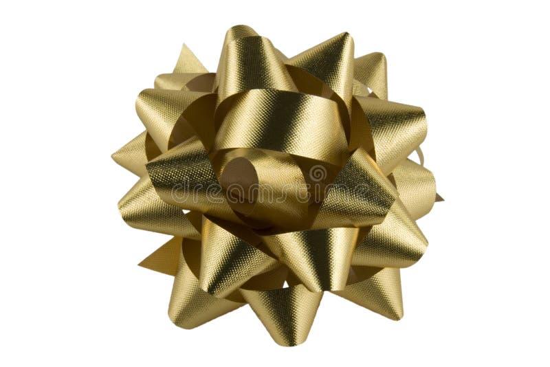 Goldenes Bogenalpha lizenzfreie stockbilder