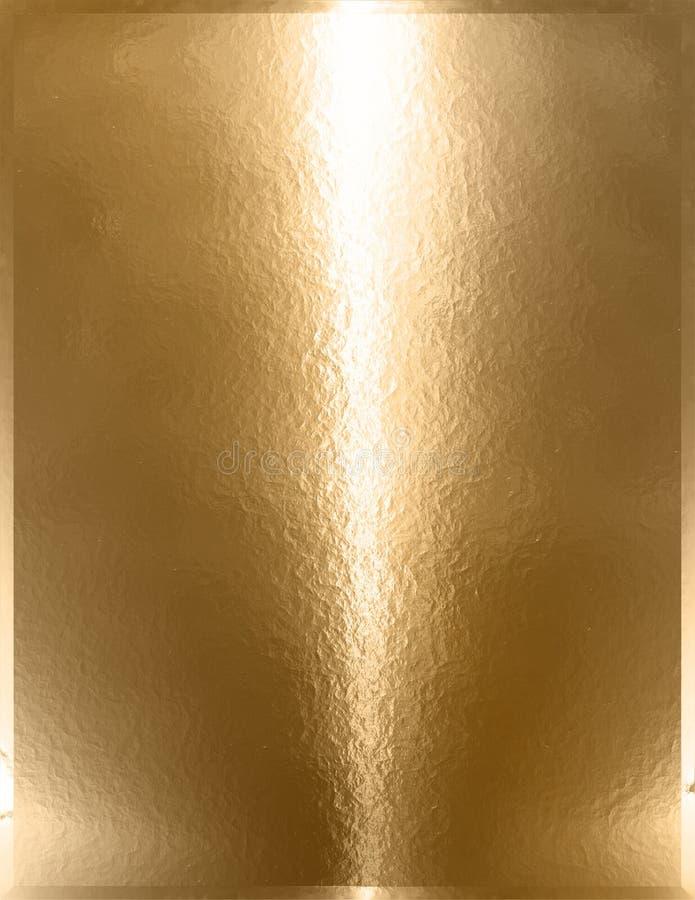 Goldenes Chrome-Metall lizenzfreies stockbild