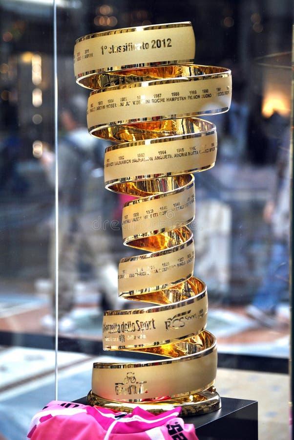 Goldenes Cup Autogiro d'Italia stockfotos