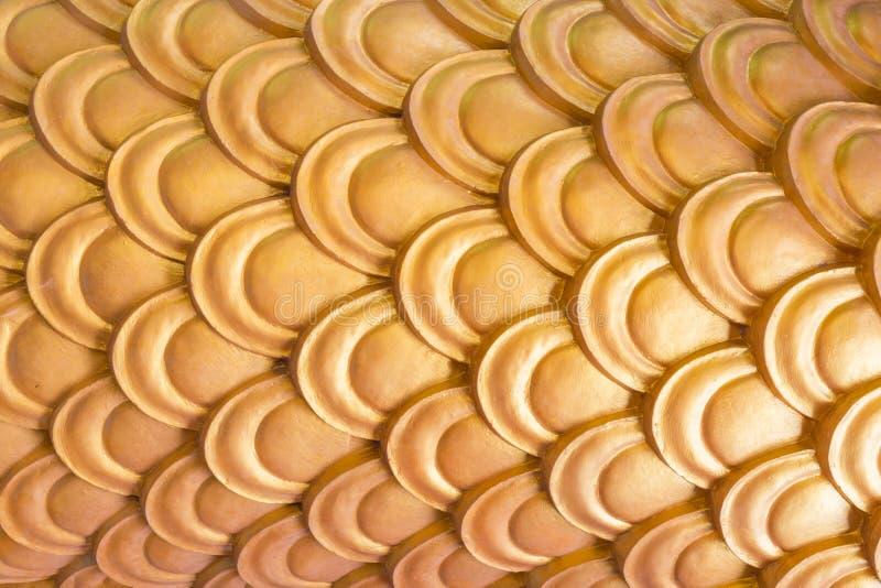 Goldenes Dragon Scales lizenzfreies stockbild