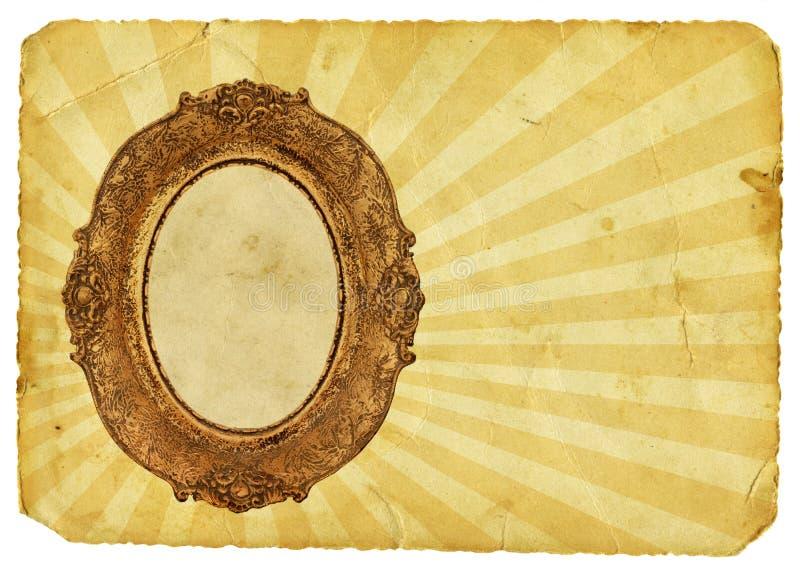 Download Goldenes Feld stock abbildung. Illustration von lichtstrahl - 15601956